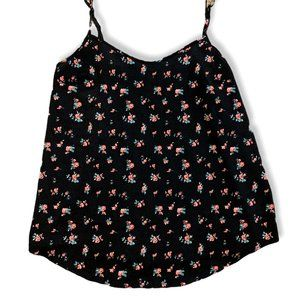 3/$20 Kismet Floral Camisole Black Size Small